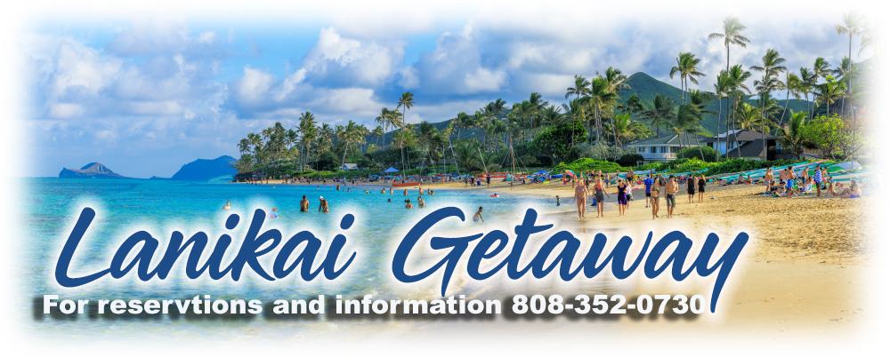 Lanikai Gateway Map Lanikai Oahu Hawaii 96734